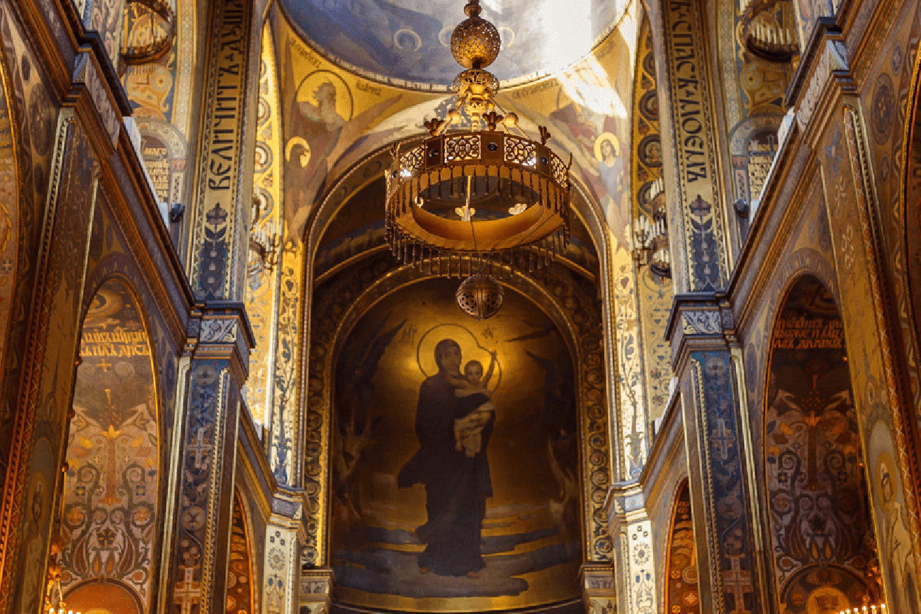 Visit to St. Volodymyr`s Cathedral